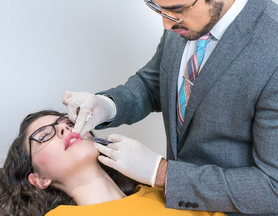 Lip Filler Treatment in London With Dr Adil Sarwar at Skin Science Clinic, Marylebone, London