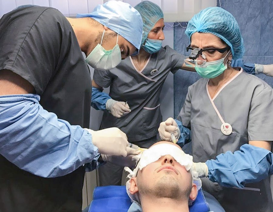 London Hair Transplant Procedure At Skin Science Clinic